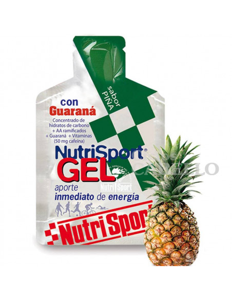 Gel Nutrisport piña con Guaraná
