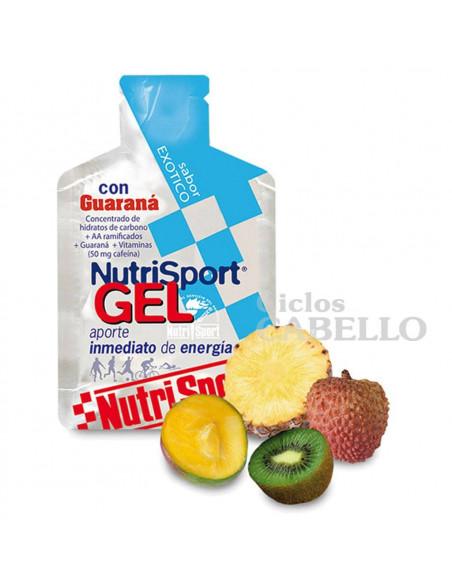 Gel Nutrisport Exotico Guaraná