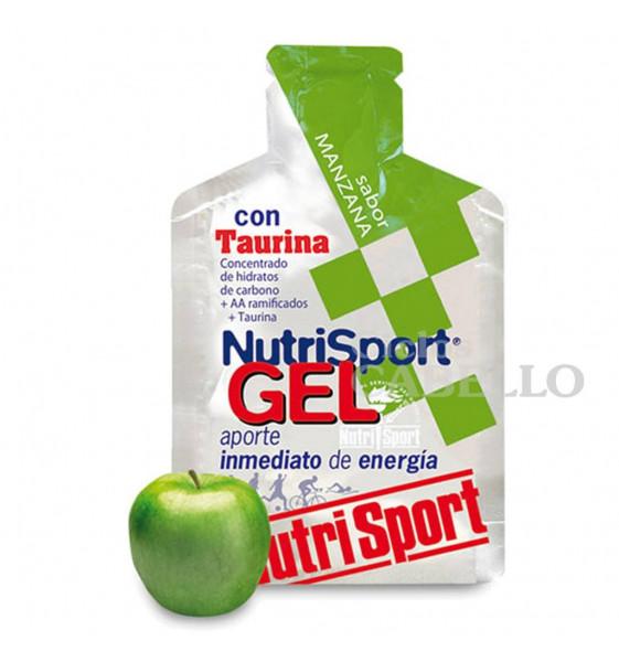 Gel Nutrisport Taurina-Manzana