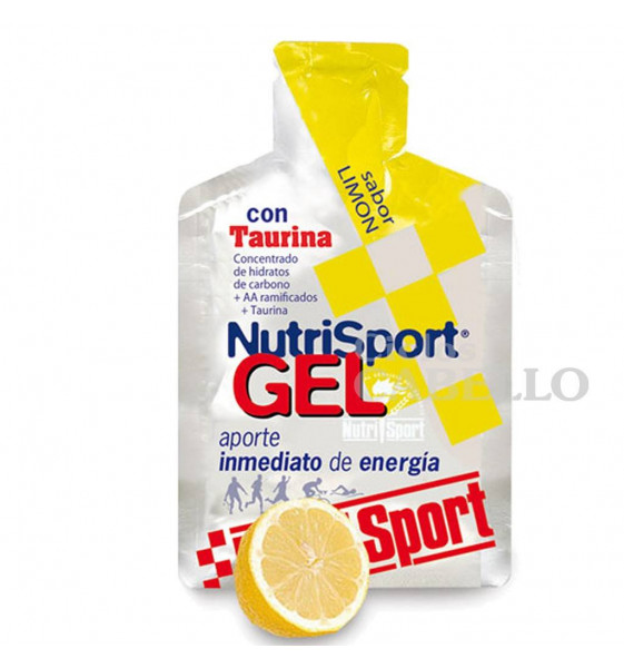 Gel Nutrisport Taurina-Limón