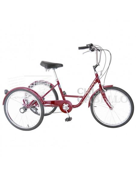 "Triciclo AMAT 20"" Rojo"