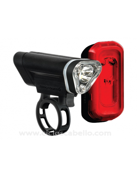 Kit Luces Blackburn Local 50 delantero + Local 10 Trasero