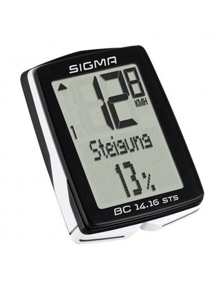 Cuentakilometros Sigma BC 14.16 STS con Altimetro y cadencia