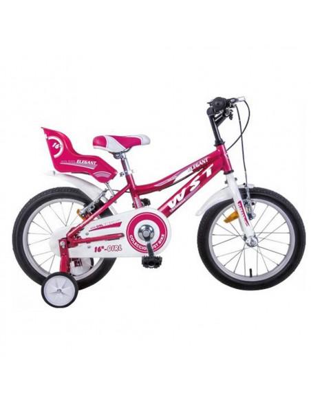 "Bicicleta paseo WST Niña 16"""
