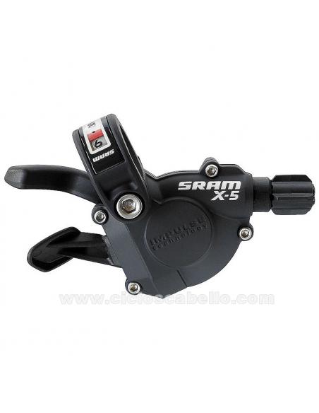 Mando de cambio SRAM X5 Trigger 10v Trasero