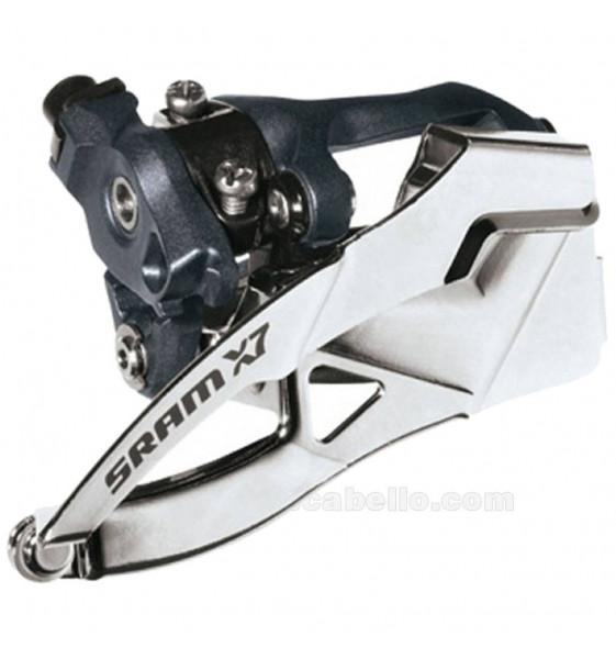 Desviador SRAM X7 3x9 Doble Tiro
