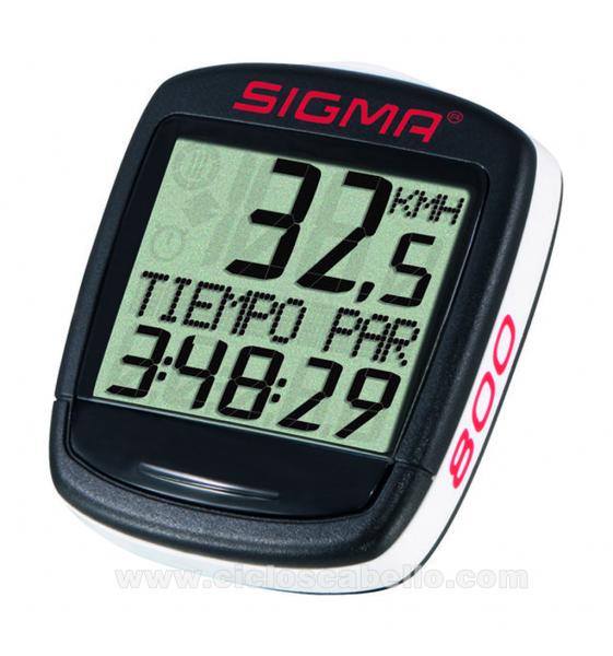 Cuentakilómetros SIGMA Baseline BC 800
