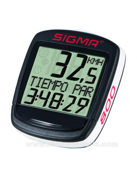 Cuentakilometros Sigma Baseline BC 800