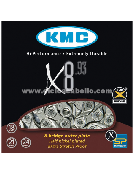 CADENA KMC X8-93 INDEX 8V
