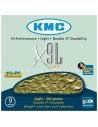 CADENA KMC X9L GOLD 9V ORO