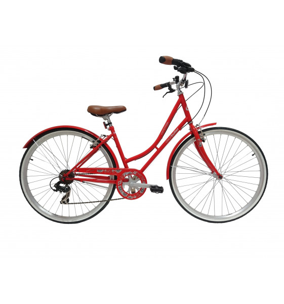 "Bicicleta Cambridge 28"" Roja"