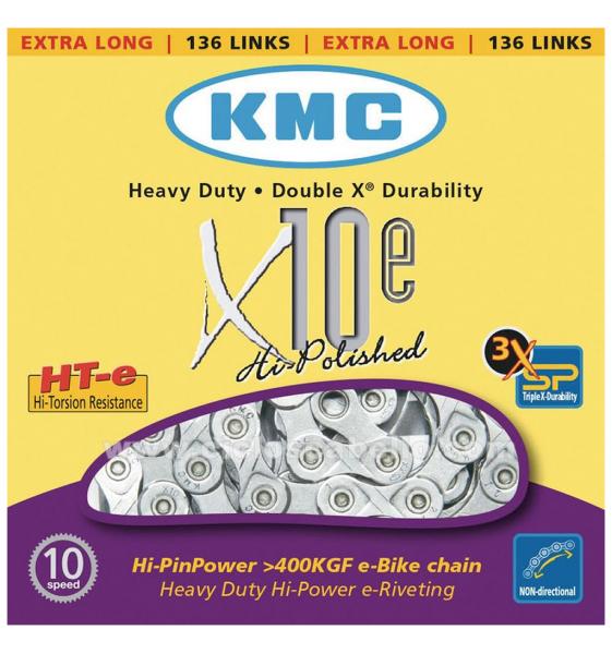 CADENA KMC X10 E-BIKE 114 PASOS