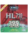CADENA KMC HL710 MEDIA MALLA 1V CROMADA