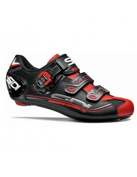 Zapatillas de carretera SIDI GENIUS 7 Negro Rojo
