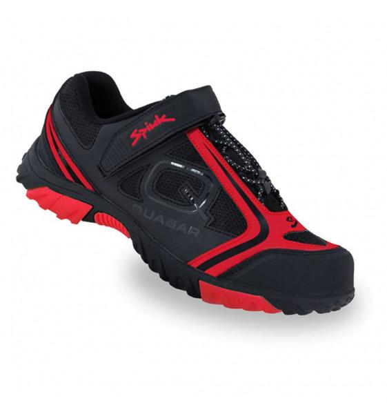 Zapatillas Spiuk Quasar Trip MTB Negro Rojo