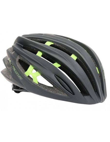 Casco Massi Team Negro Verde