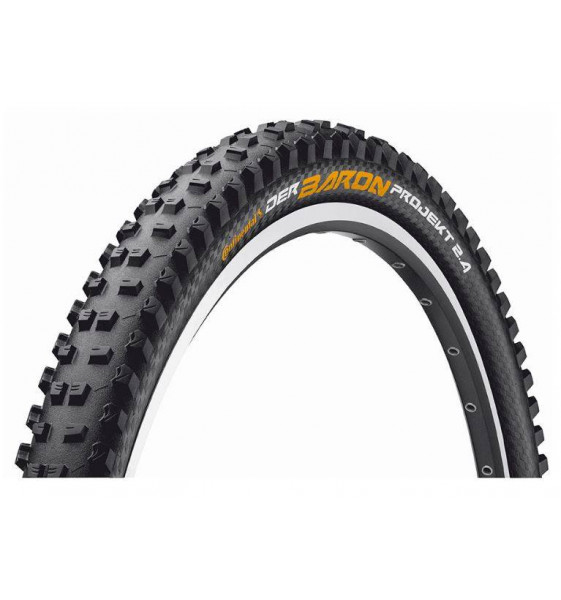 Cubierta MTB Continental Der Baron 2.4 Projekt Protection Tubeless Ready