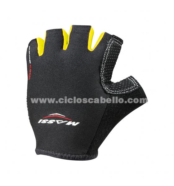 Bunte Massi Comp Tech kurze Handschuhe