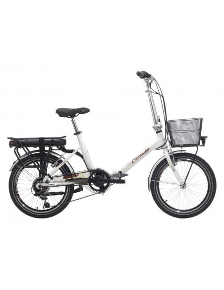 Bicicleta Plegable Eléctrica Cinzia E-Sfera