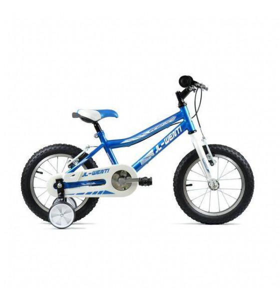 "Bicicleta de niño JL-Wenti 18"" Roja"