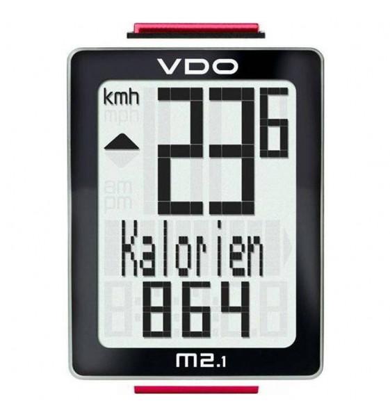 Cuentakilómetros VDO M2.1 con cable