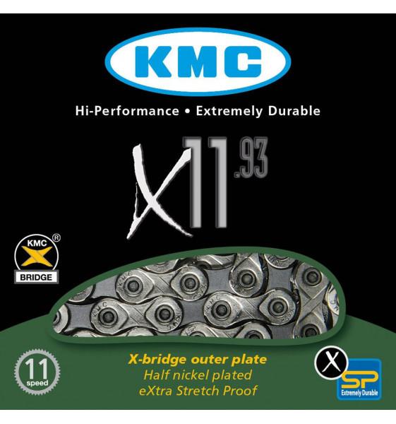 Cadena KMC X11.93 11velocidades