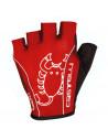 Guantes Castelli Rosso Corsa Classic negro