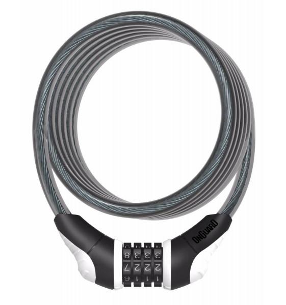Candado Espiral ONGUARD Neon Combi 180 CM x 12 MM
