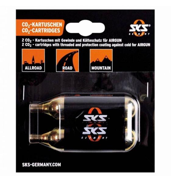 Cartucho CO2 24 Gramos SKS Airgun (1 Unidad)