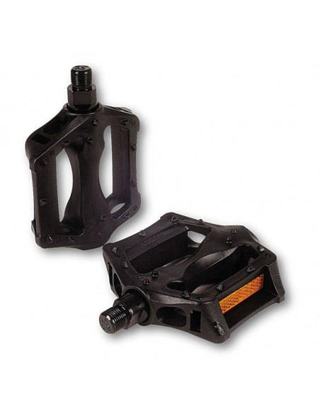 Pedales V.P. BMX Fibra Negro