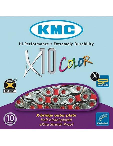 Cadena KMC X-10 Vivid 114Es 10v