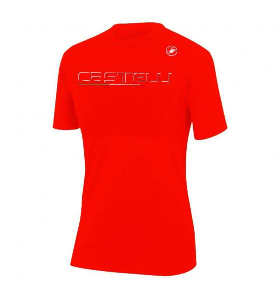 Camiseta Castelli Classic Melange Mujer