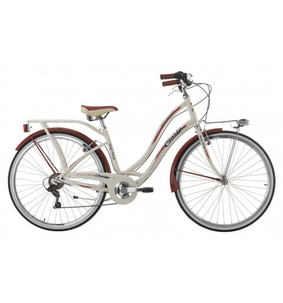Bicycle Cinzia Carosello Woman 28""