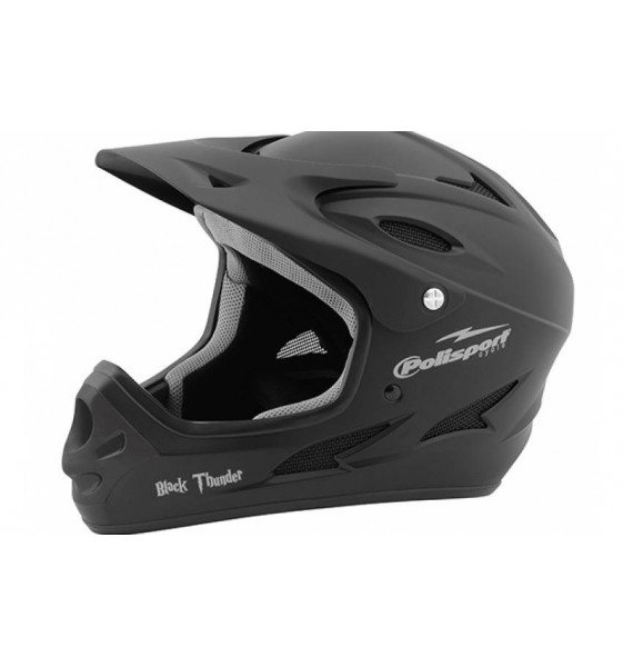 Casco Polisport Black Thunder