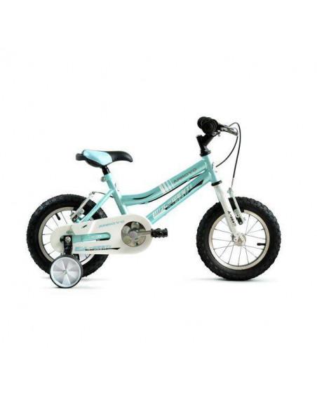 "Bicicleta Infantil JL-Wenti Azul/Blanco 12"""