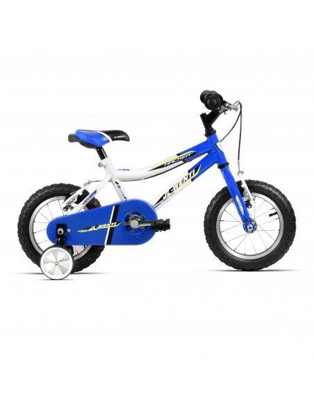 "Bicicleta Infantil JL-Wenti Blanco/Azul 12"""