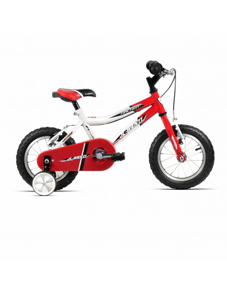 "Bicicleta Infantil JL-Wenti Blanco/Rojo 12"""