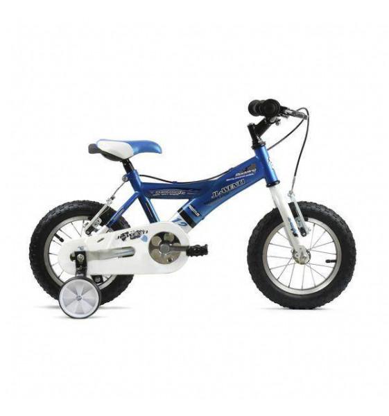 "Bicicleta Infantil JL-Wenti -Y- Azul/Blanco 12"""