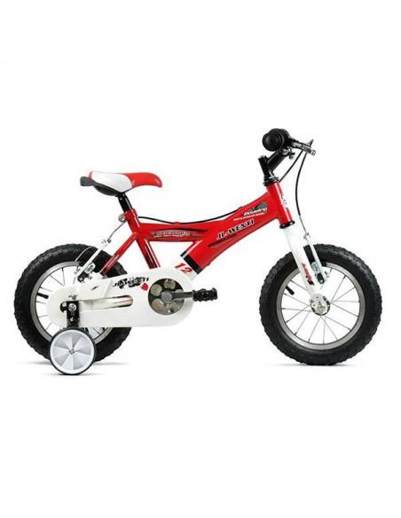 "Bicicleta Infantil JL-Wenti -Y- Rojo/Blanco 12"""