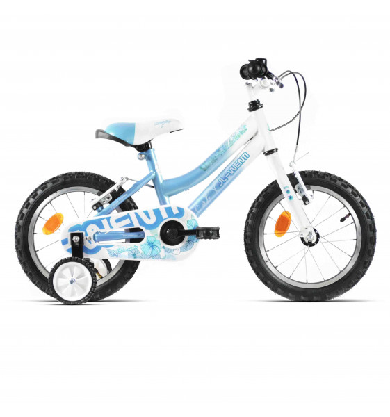 Bicicleta Infantil JL-Wenti Magic Azul/Blanco 14""