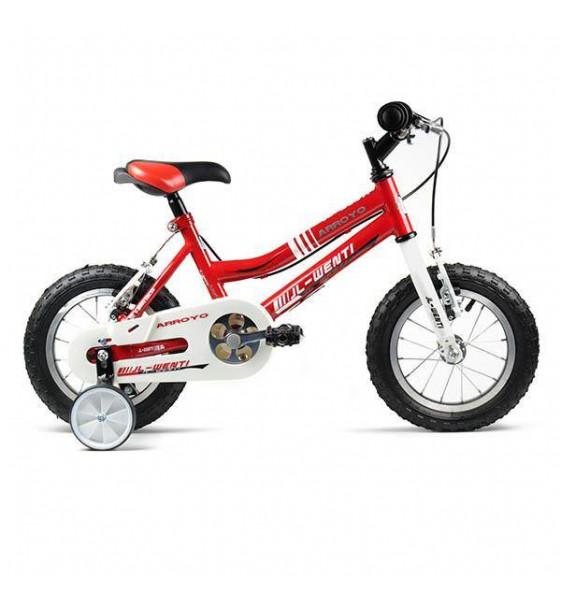 "Bicicleta Infantil JL-Wenti Rojo/Blanco 14"""