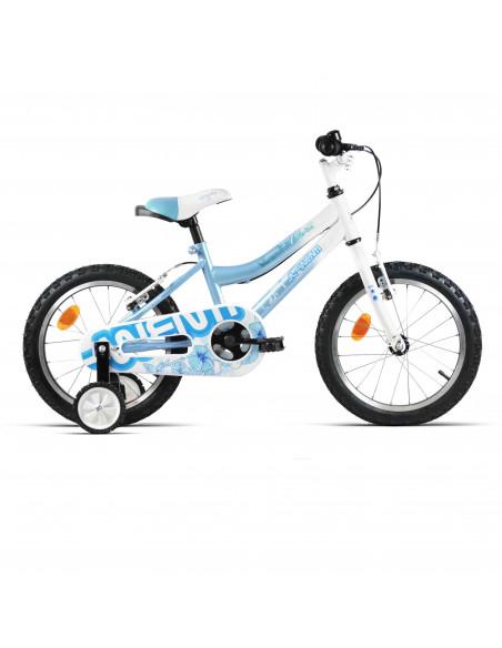 "Bicicleta Niña JL-Wenti Girl Magic Celeste/Blanco 16"""