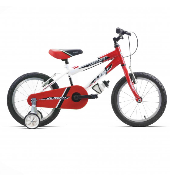 "Bicicleta Infantil JL-Wenti Blanco/Rojo 14"""