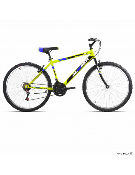 "Bicicleta JL-Wenti Acero ECO 1100 26"""