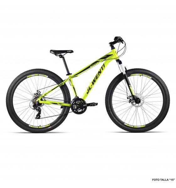 "Bicicleta JL-Wenti Aluminio F/D Mecánico STORM 21V 29"""