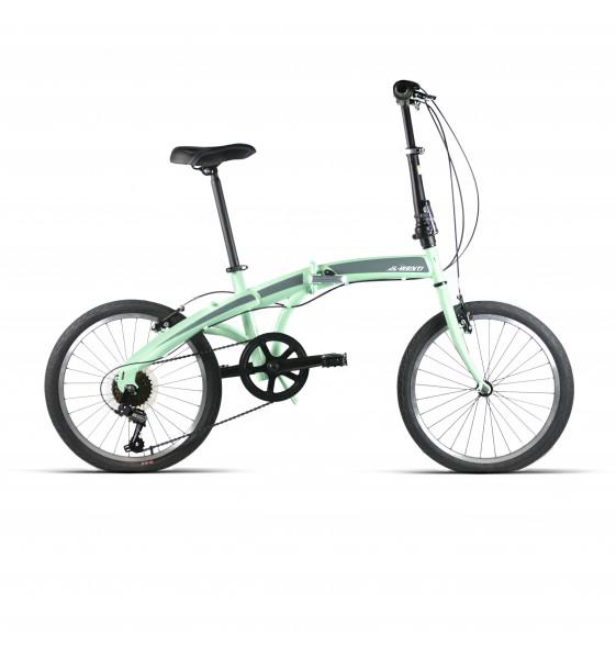 """Bicicleta JL-Wenti Plegable Acero 6V 20"""""""