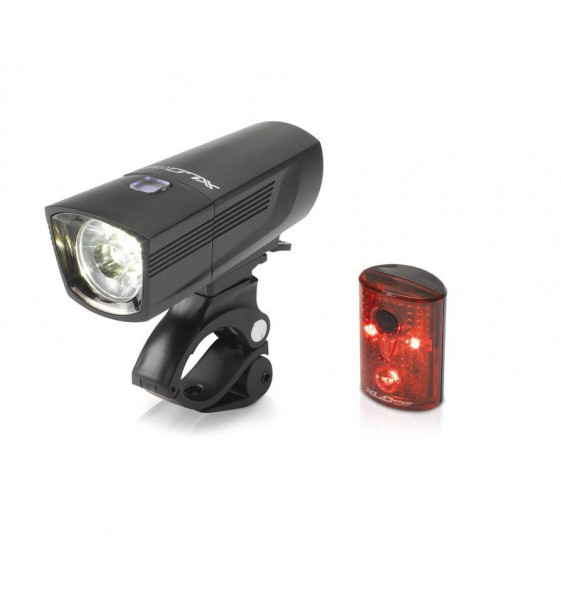Set de Luces XLC CL-S15 Led Delanteras Francisco/Tras Pan