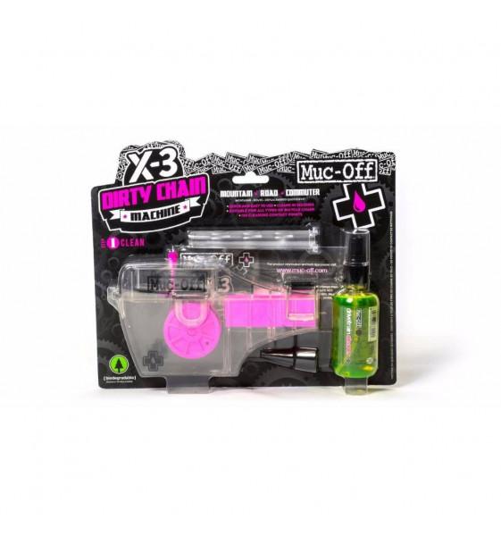 Aparato Muc-off Limpiador Cadena+Liquido (X-3 Dirty Machine)