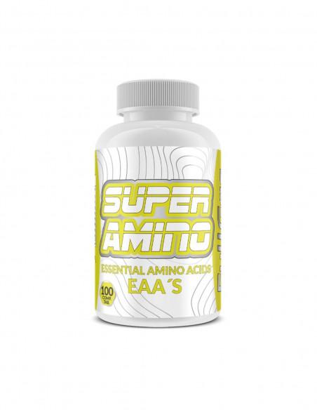 Bote Aminoacidos Esenciales FullGas Super Amino (100 Comprimidos)