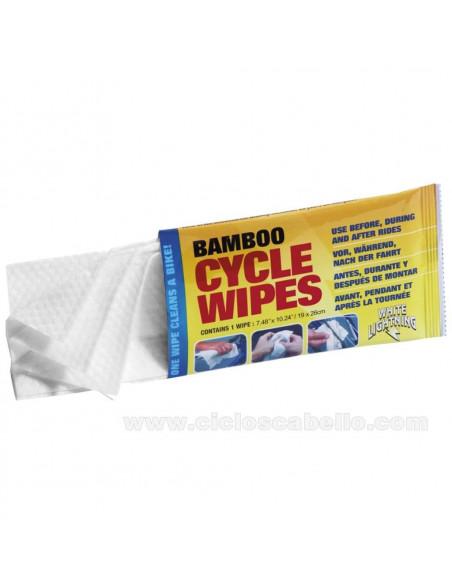 Toallas limpiadoras Bamboo Cycle Wipes